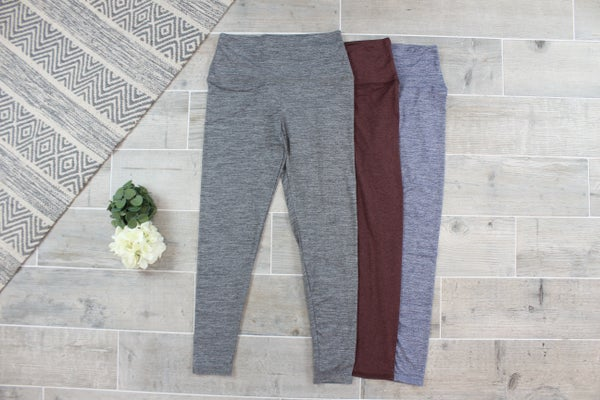 Basic Buttery Soft Everyday Leggings