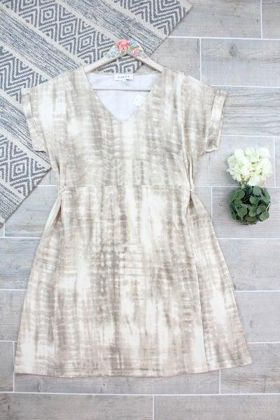Mocha Latte Rollup Dress