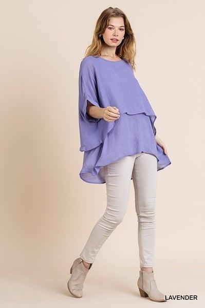 Lindsey Top - Lavender