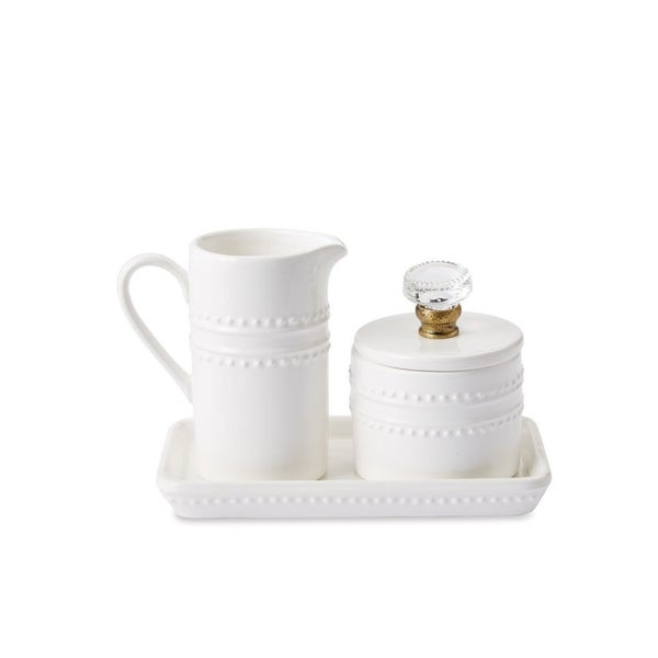 Mud Pie Cream & Sugar  Set - Gargus