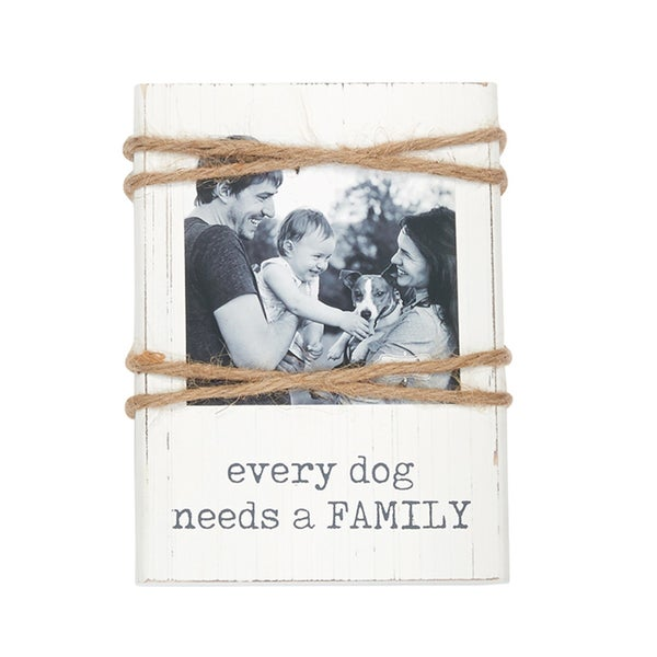 Mud Pie Family Pet Frame