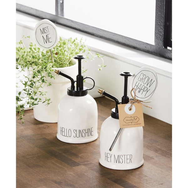 Mud Pie Plant Mister & Marker Set