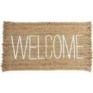 Welcome Jute Mat
