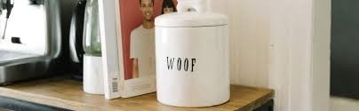 Creative Co-op Woof Jar