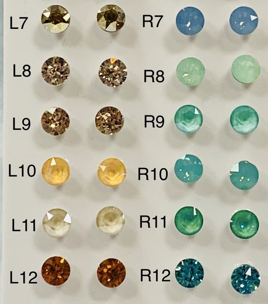 Swarovski Crystal Earring Studs