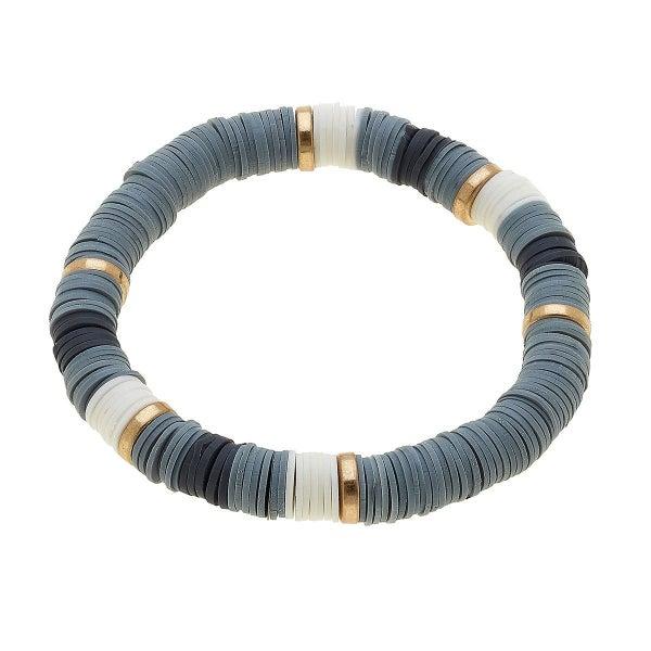 Emberly Color Block Bracelet In Grey