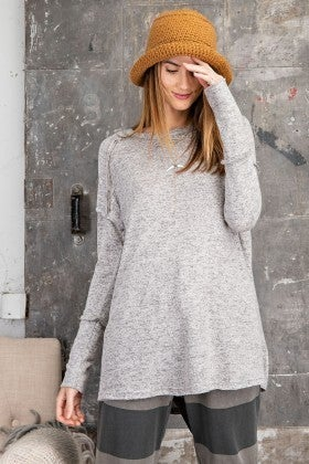 Grey Day Top
