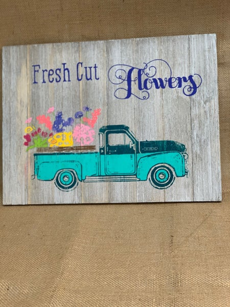 Truck - Fresh Cut Flowers