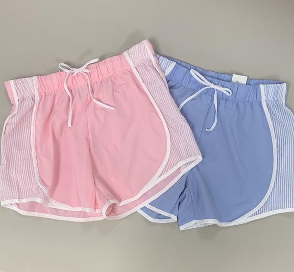 Seersucker Shorts
