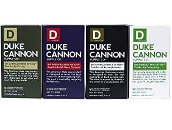 Duke Cannon Soap Bars