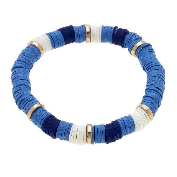 Emberly Color Block Bracelet In Navy