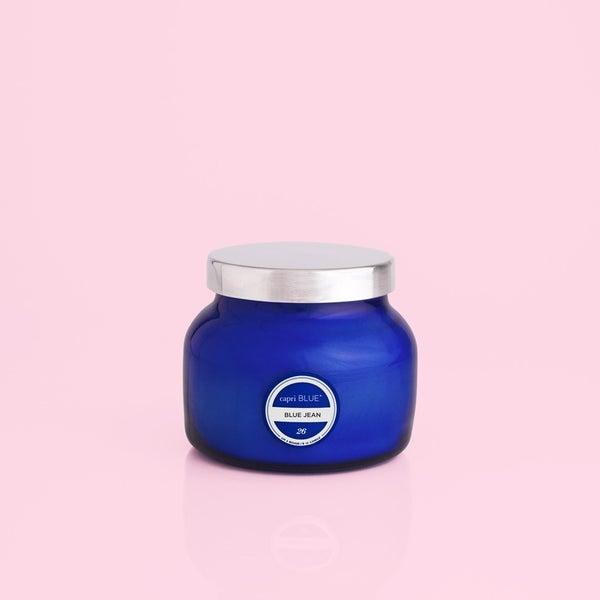 Capri Blue Petite Jar - Blue Jean