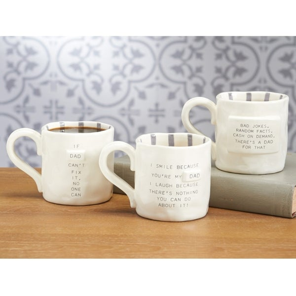 Mud Pie Funny Dad Mugs