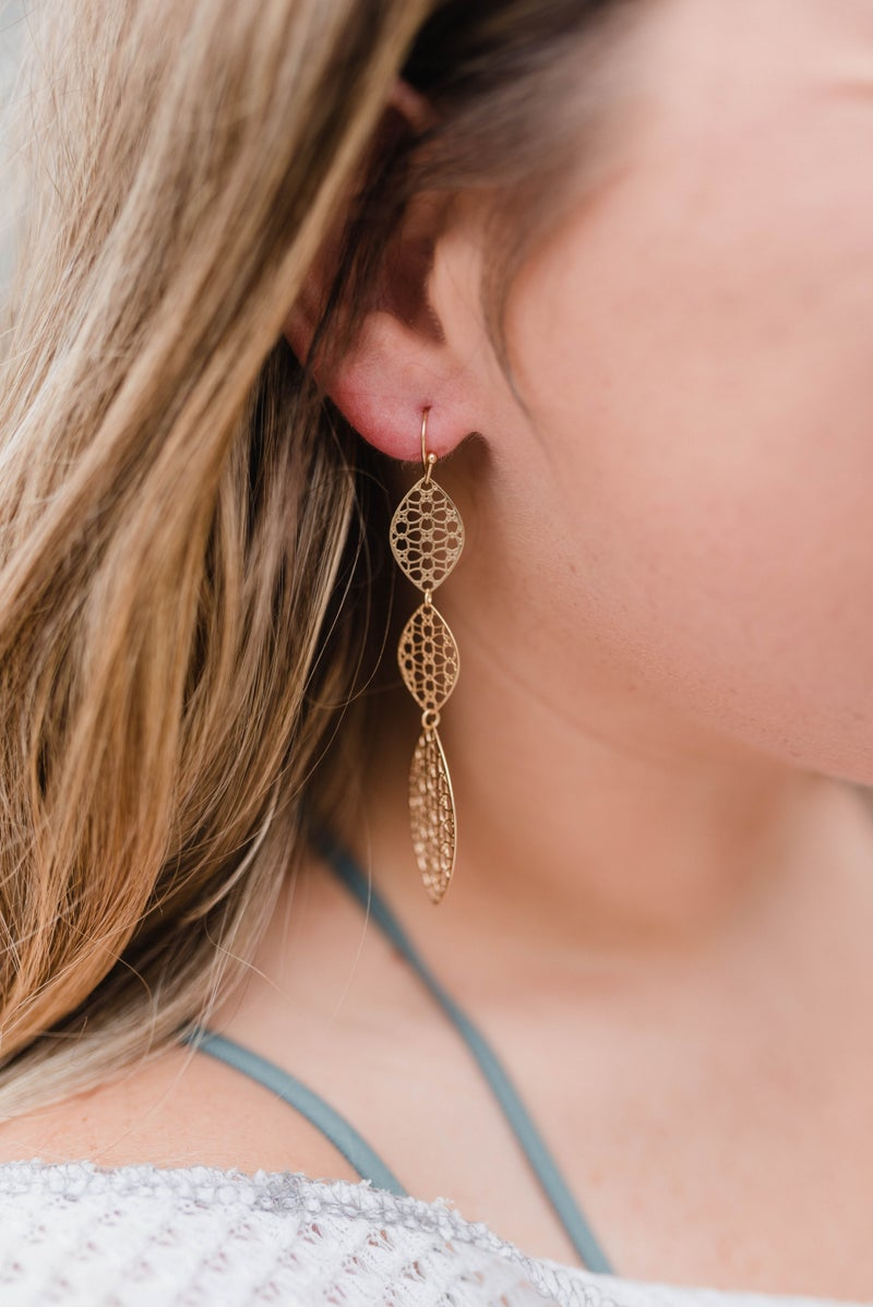 The Evie Marquee Earrings