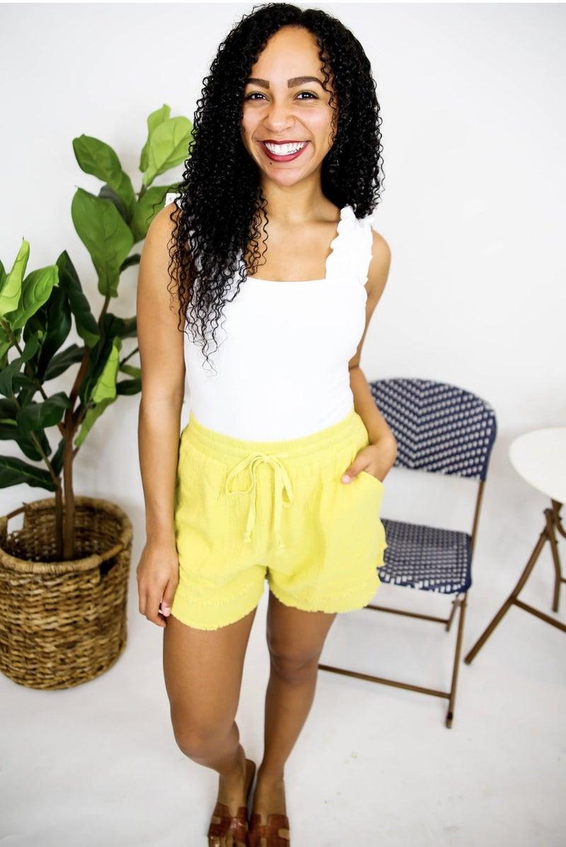 Lemon Drop Shorts