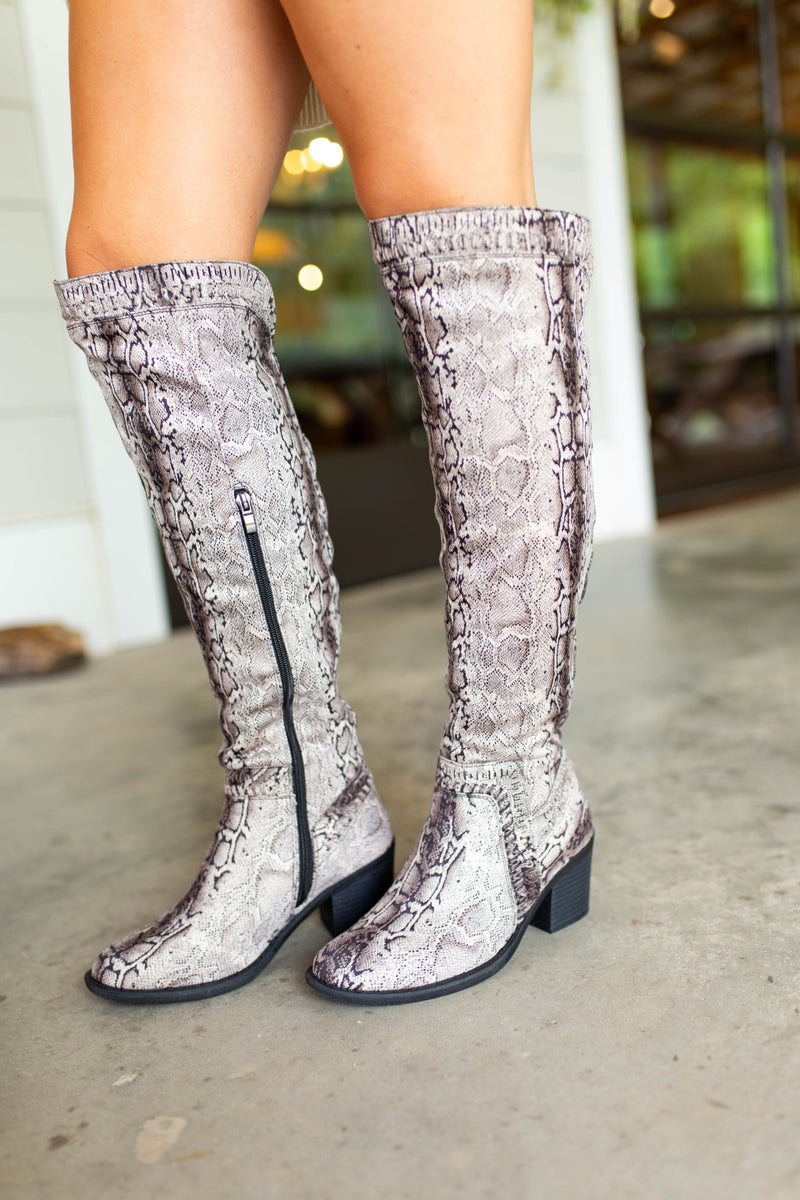 Must Have Snakeskin Boots