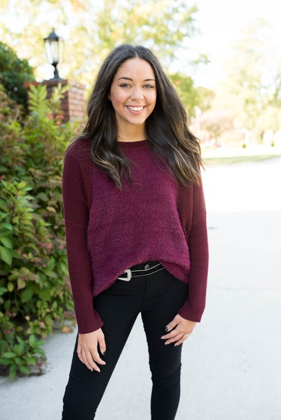 Cranberry Daydreams Top