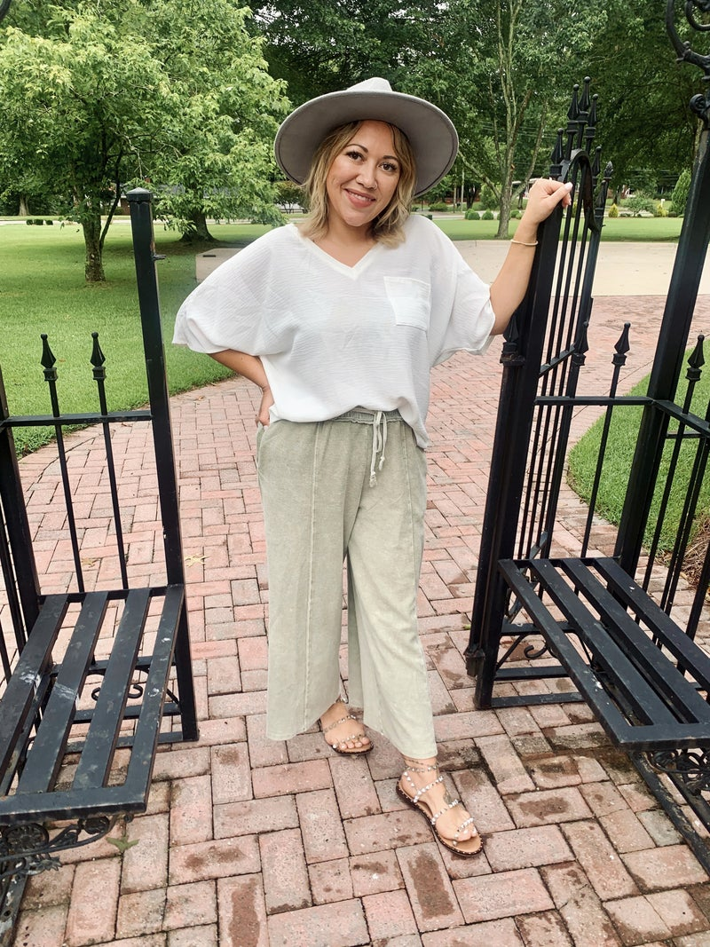 The Willow Wide Leg Pants