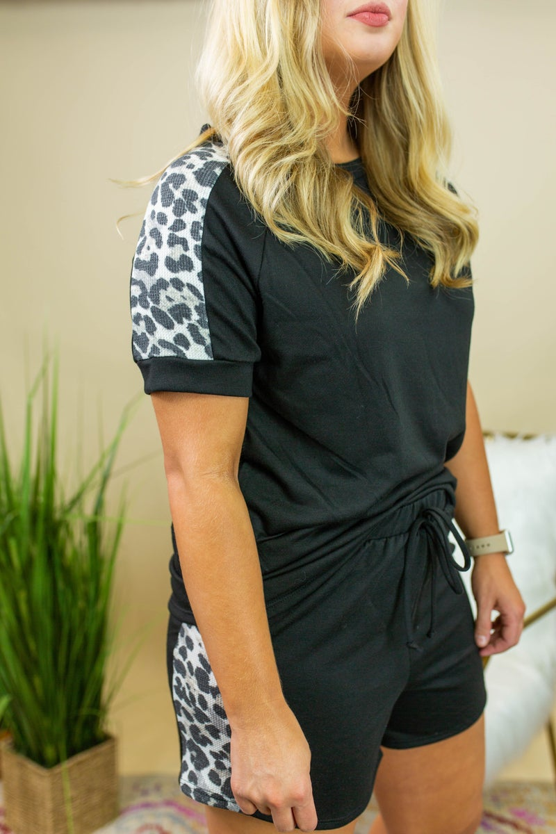 The Leopard Forever Loungewear Shorts *Final Sale*