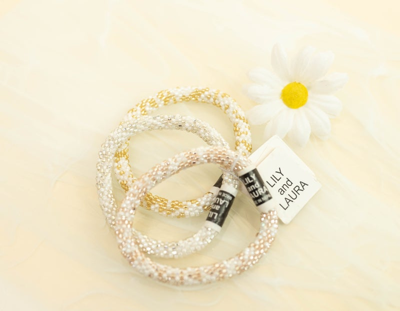 Lily and Laura Bracelet  Confetti Stack