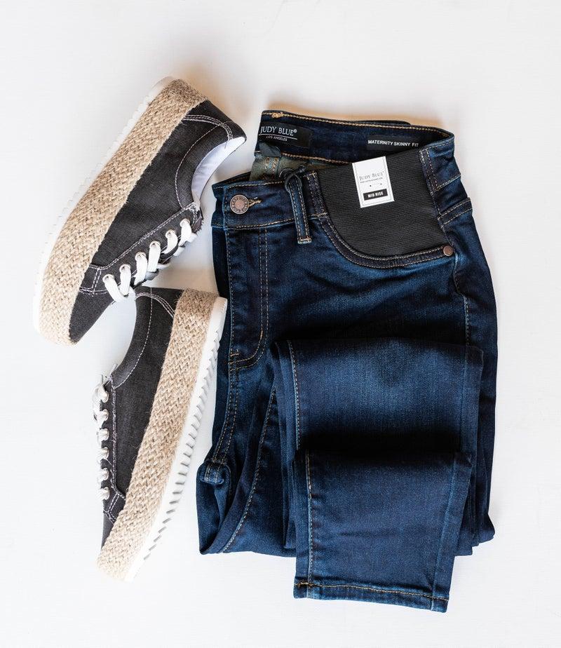 Judy Blue Stretch Elastic Waist Jeans