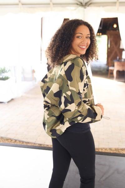 Kayleigh Loves Camo Jacket