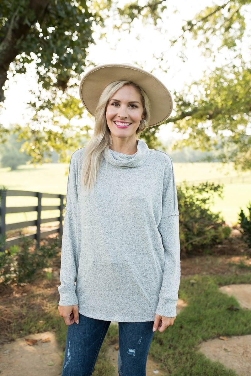 Cora's Cowl Neck Sweater