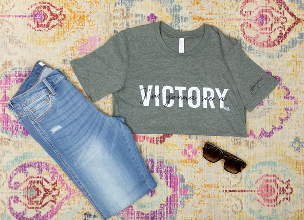I'm Gonna See a Victory Tee **Final Sale*