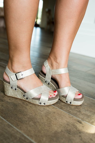 Corky's Flax Sandals