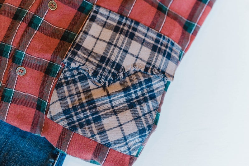 Shades of Fall Flannel Top