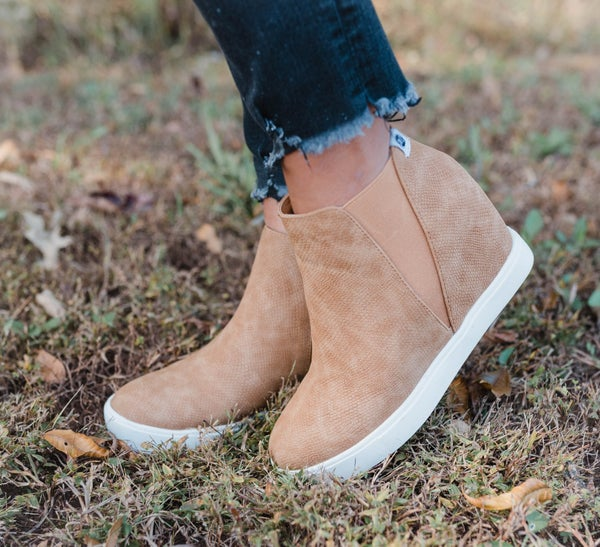Must Have High Top Wedge Sneakers
