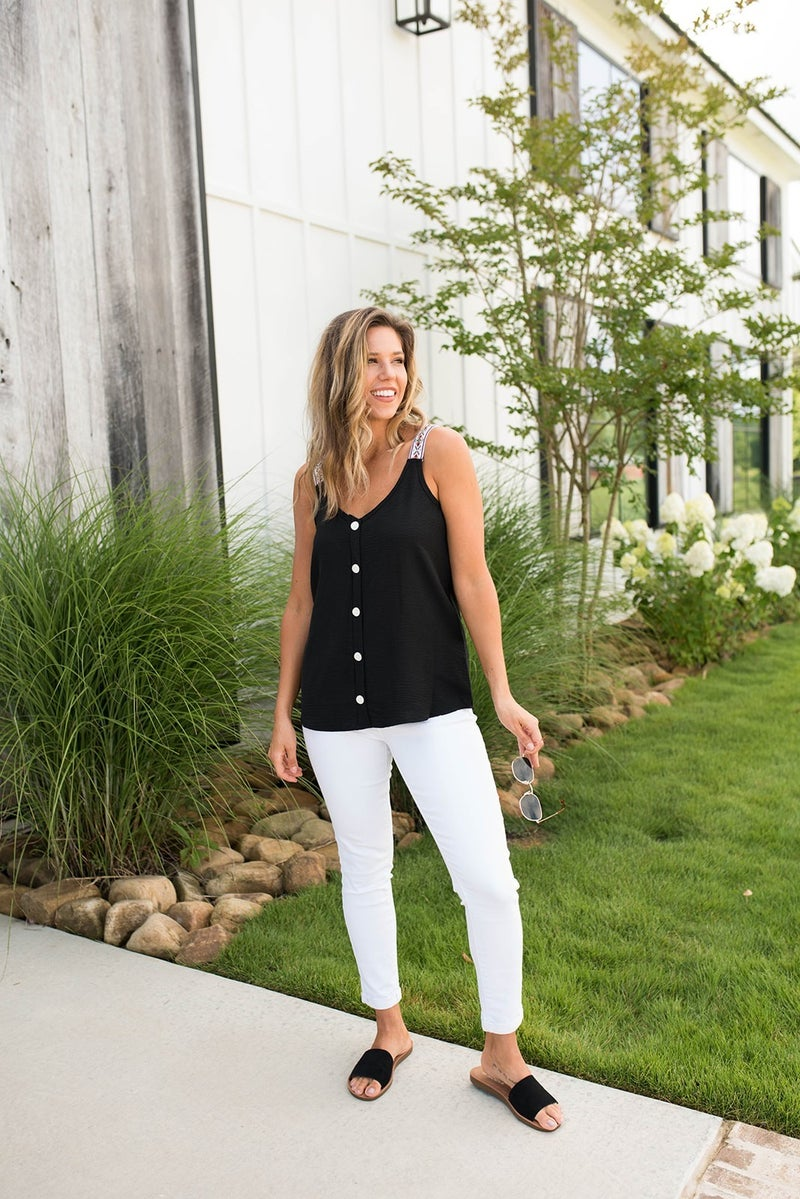 Caley's Fav Dressy to Casual Tank *Final Sale*