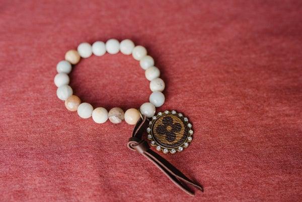The Naomie Upcycled LV Bracelet