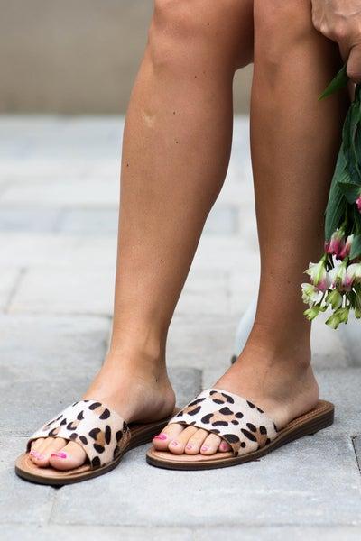 The Bella Leopard Sandals