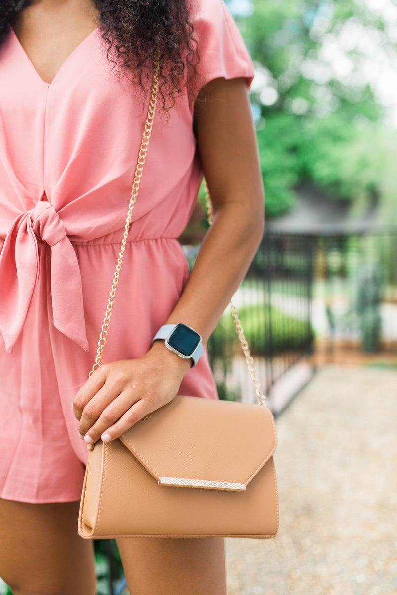 Designer Inspired Crossbody Handbag