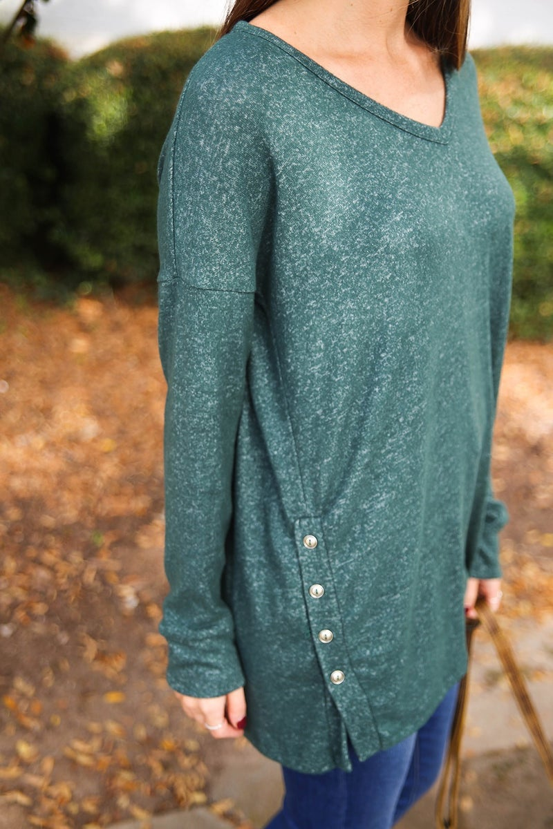 Christmas Green Tunic