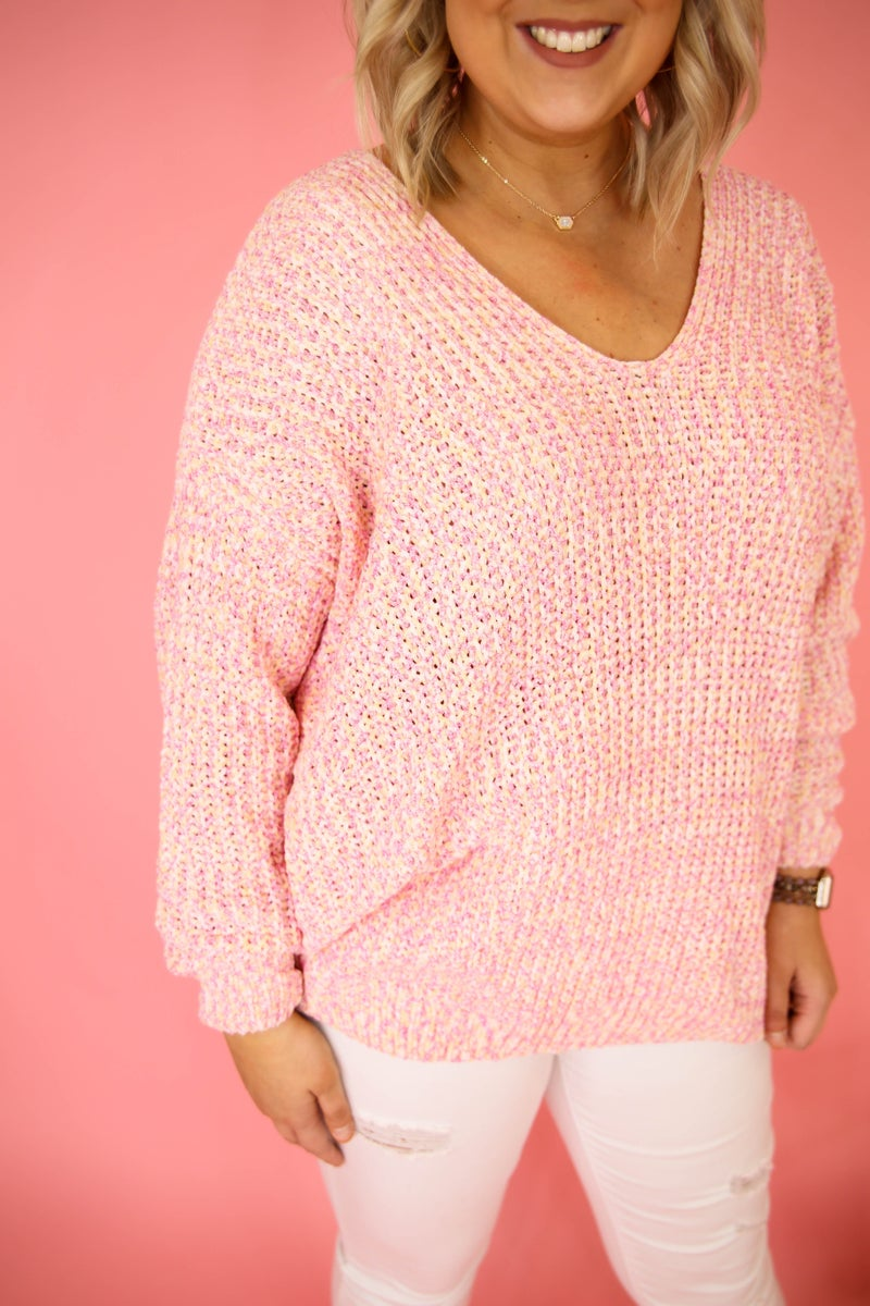 Spring Is Here Sweater *Plus Only*