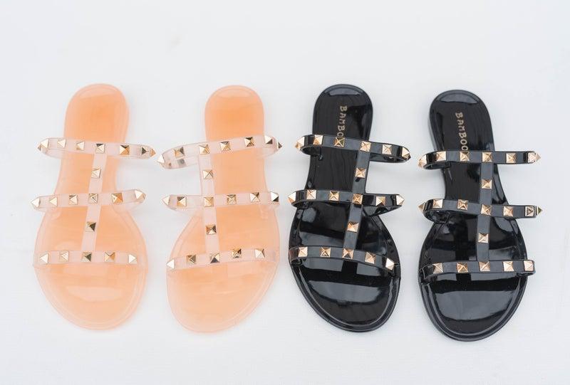 Jelly Flat Sandals