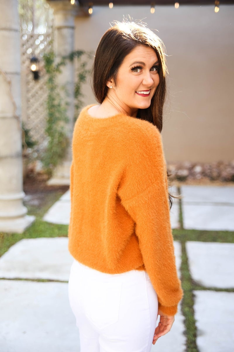 All the Fuzzy Feels Sweater