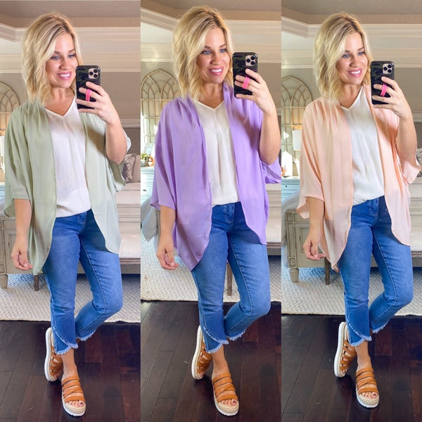 Complete Your Outfit Kimono