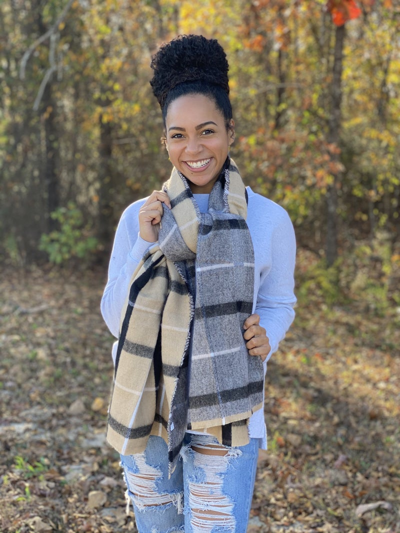 Your Favorite Plaid Scarf