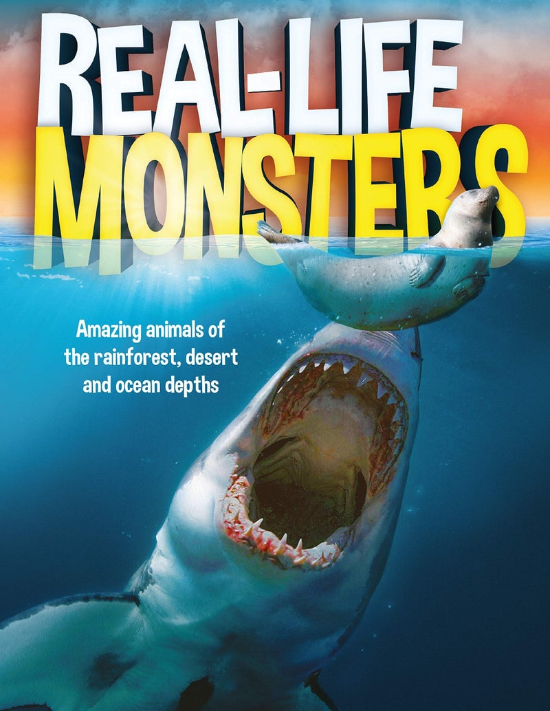 Real Life Monsters:  Amazing Monster-Like Animals Book
