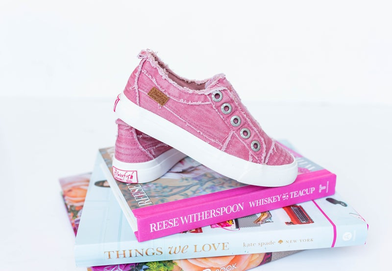 I'm Thinking Pink Sneakers (youth + toddler sizes)