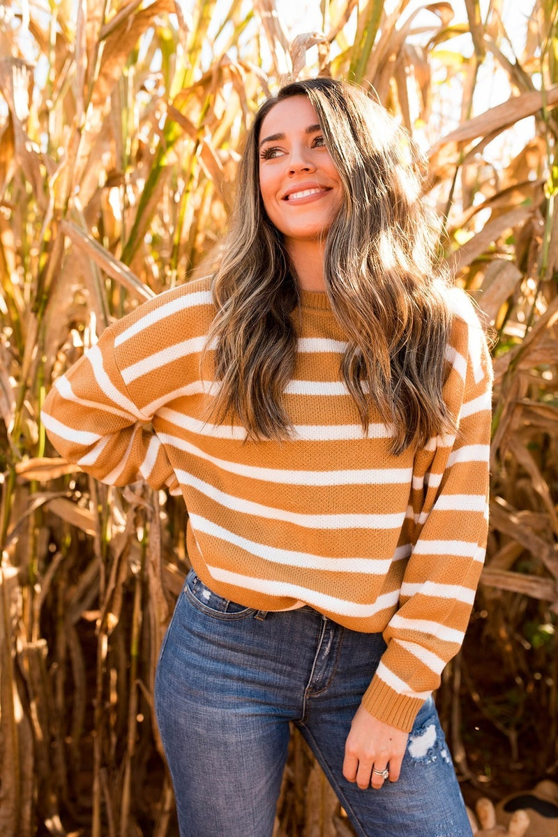 Golden Sunsets Sweater
