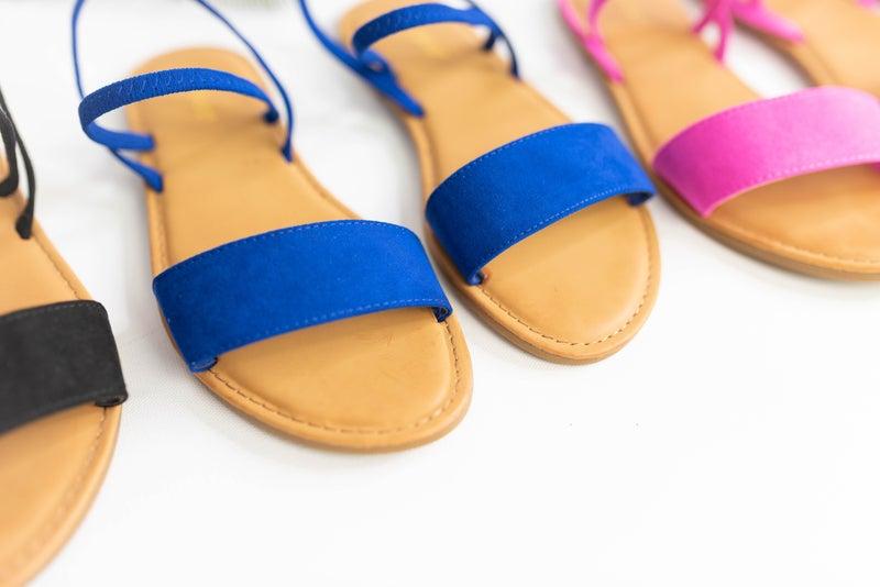 Dreams of Summer Sandals - Hot Pink Deal *Final Sale*