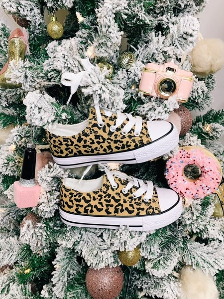 Mommy and Me Cheetah Black Friday Shoes *Final Sale*