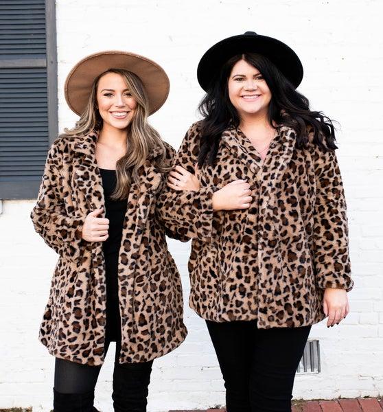 J & J Original Black Friday Cheetah Coat