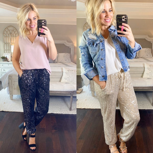 Add A Little Sparkle Joggers