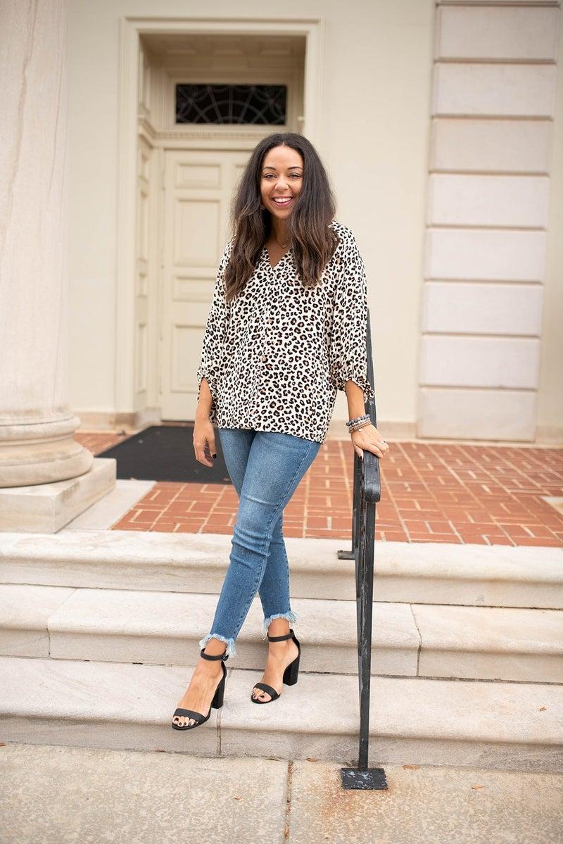 Cheetah Love Top
