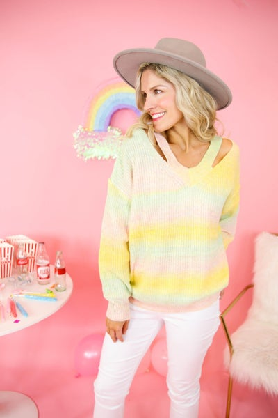 Ombre All Day Sweater